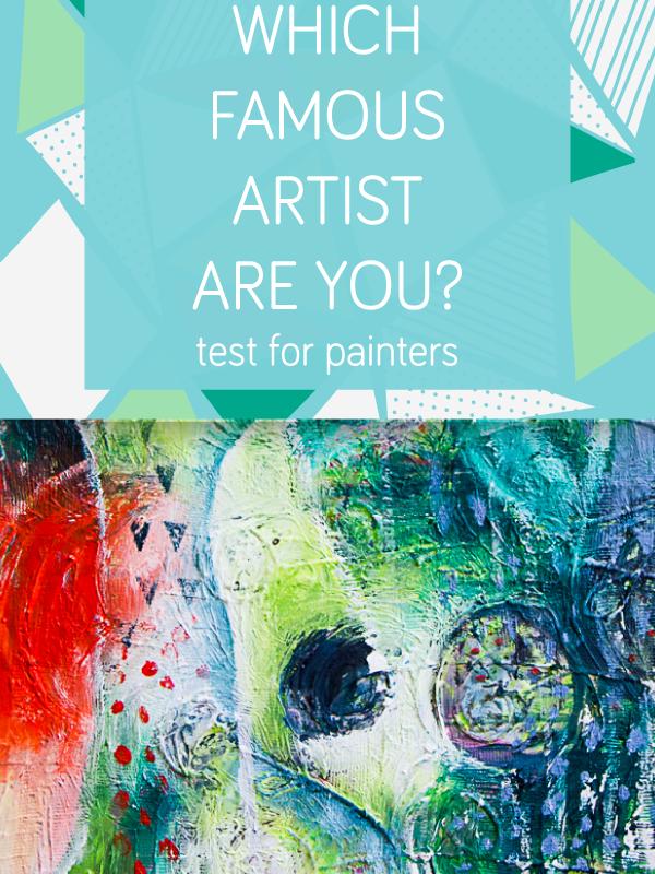 Kateri slavni umetnik si?