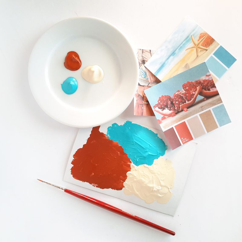 Kako izbrati perfektno barvno kombinacijo?