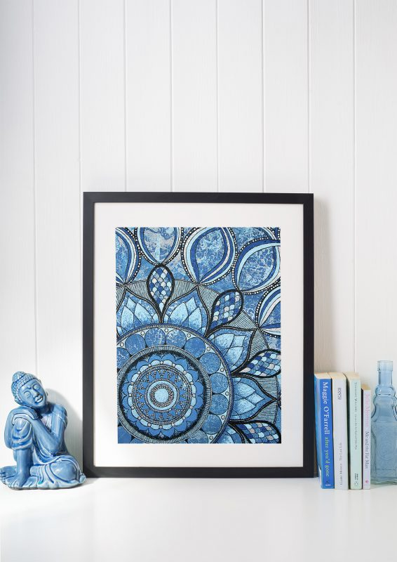 anja_berloznik_artwork_mandala_blue_water_print