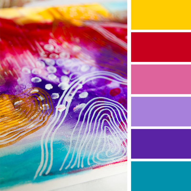 My top 5 color palettes