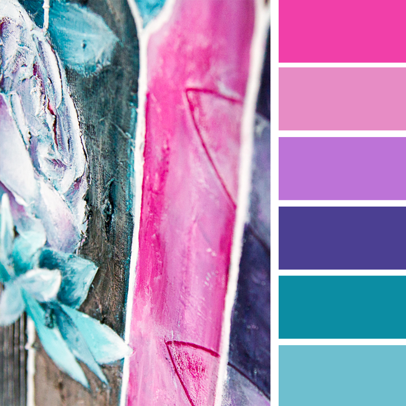 How I pick my colour palettes?